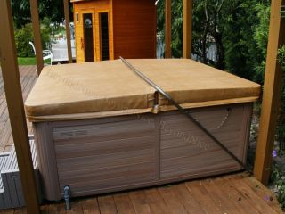 Custom Made Spa Hot Tub Cover 6 to 4 Taper Up to 96 Energy Saving