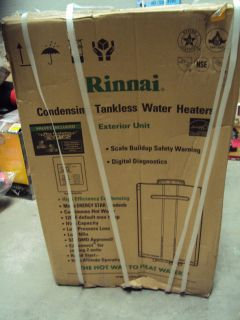 Natural Gas Tankless Hot Water Heater External Whole House 8 Gal