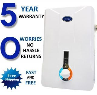 Instant on Demand Hot Water Heater 3 GPM Whole House Marey New