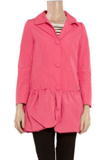 Moschino Cheap and Chic Bubble hemmed shell coat
