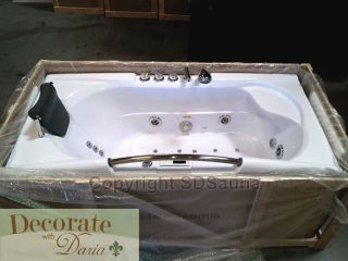WHIRLPOOL BATHTUB Bath SPA Hot Tub 19 Massage/Air Jets FM Ozonator New
