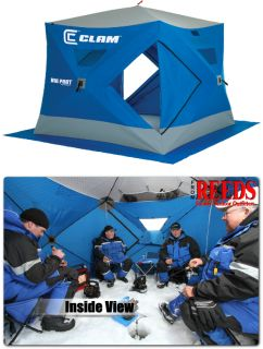 Big Foot XL4000T Thermal 8x8 4 6 Man Ice Fishing House 9130