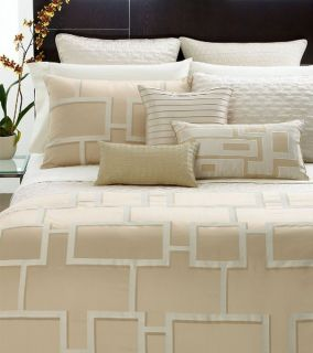 Hotel Collection Maze Full Queen Duvet Cover New