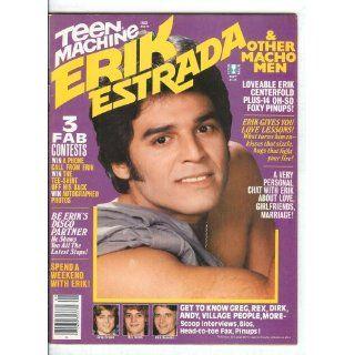 September 1979 Teen Machine Magazine CHiPs California Highway Patrol