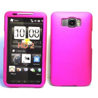 Hot PInk Solid Color Front and Back Case Rubber Texture