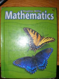 Houghton Mifflin Math Textbook Grade 3 Math Problems