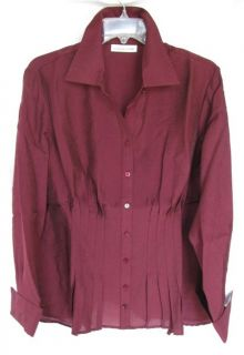 Coldwater Creek Hourglass Silhouette Defining Blouse