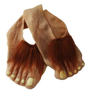 Lord of The Rings Hobbit Feet Costume Accessory Licensed Child One