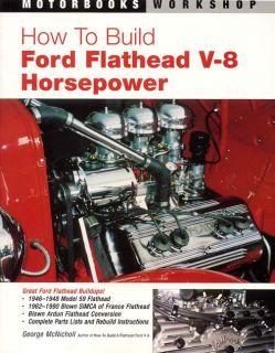 How to Build Flathead Ford Model 59 V8 Horsepower DIY Part Engine Race