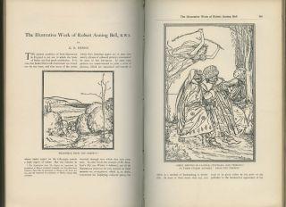 Art Nouveau Jessie M King James Guthrie E A Poe Pear Tree Press