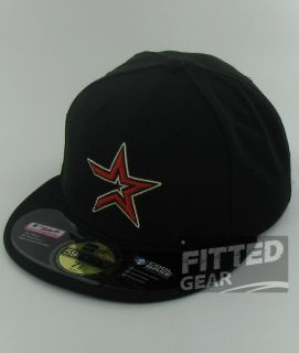 Houston Astros Star Logo Game 2012 New Era 59Fifty Fitted Official