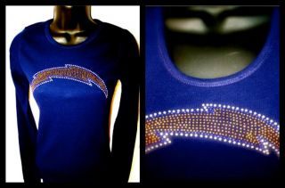 San Diego Chargers Bling Tank Top Tee Hoodie SM to 3X