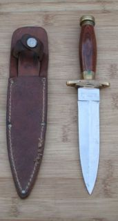 Vintage OLSEN OK Howard City Commando Style Fighting Dagger Boot Knife