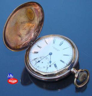 Antique E Howard Co B B Royal Gold Filled Hunter Case Pocket Watch