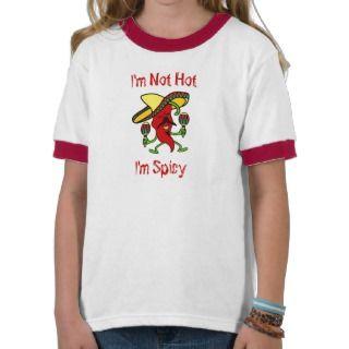 No soy caliente, yo soy picante t shirt de