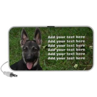 German Shepherd Puppy Speakers