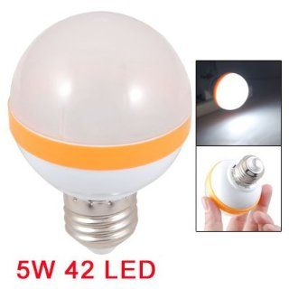 Amico White LED Light Color E27 Screw Base Plastic Lamp