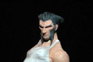 Wolverine James Howlett Logan Marvel Avengers X men Sideshow Custom 1
