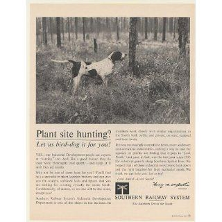 1961 Hunting Bird Dog Southern Railway System Plant Site