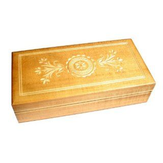Wooden Box, 5045Y, Traditional Polish Handcraft, Hinged