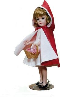 Vintage 14 Mary Hoyer Red Riding Hood Doll Clothes Pattern