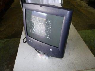 Dell E771MM 17 Black Multimedia CRT Monitor