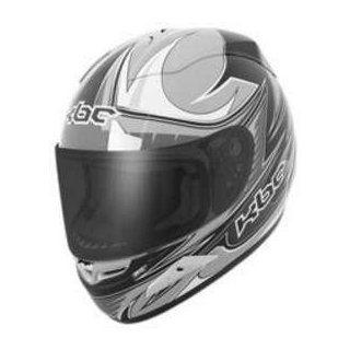 KBC FORCE RR RACE SIL_BLK XL MOTORCYCLE Full Face Helmet