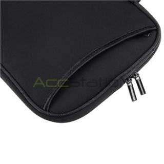 Black Laptop Notebook Bag Carry Case for Sony iPad HP Tablet
