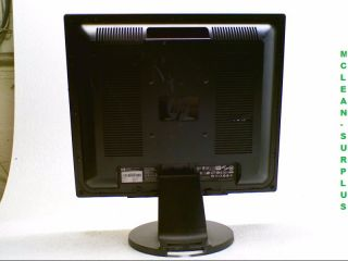 HP L1906 19 Flat Screen LCD Monitor Scratch Dent