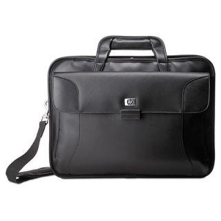 New Genuine HP RR316UT Executive 17 Leather Laptop Case Bag