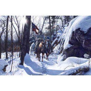 John Paul Strain   Escape From Fort Donelson Studio Giclee