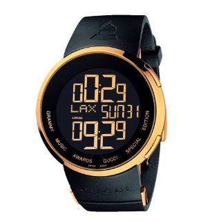 Gucci Mens YA114215 I Gucci Digital GRAMMY Special Edition Black