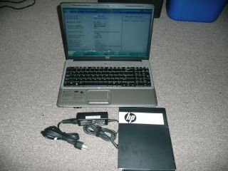HP G60 443CL Laptop Notebook Dual Core 2 1 GHZ 4 GB DVDRW Lightscribe