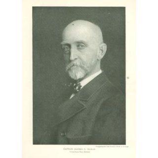 1902 Print Captain Alfred T Mahan United States Navy