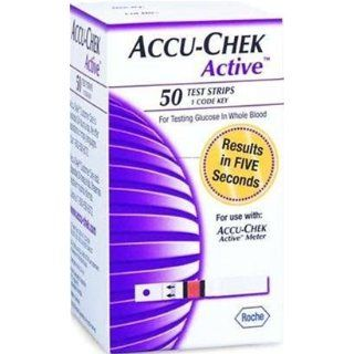 Accu Chek Active Test Strips for Blood Glucose   50 ea