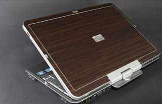 HP EliteBook 2730p Laptop Cover Skin Camagon Wood