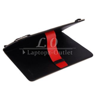 Leather Case Stand Cover for 8 Tablet PC ePad Pad Mid Black