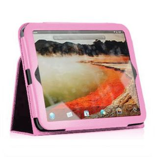 Leather Case Cover With Stand For HP TouchPad 9 7 Inch Tablet Hot Pink