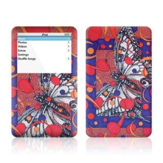 Butterfly Design Skin Decal Sticker for Apple iPod video