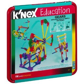 Education Intro To Simple Machines   Gears   1 98 Pieces: Toys & Games