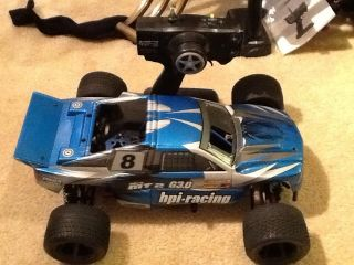 HPI Nitro MT2 G3 0 Remote Control Car