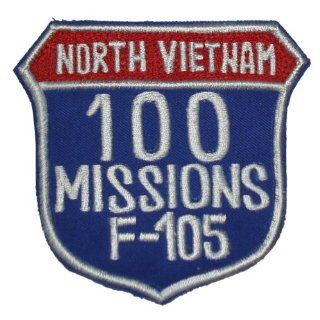 F 105 100 MISSIONS NORTH VIETNAM 4 Patch: Everything Else