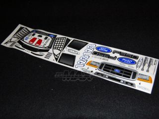 HPI Ford F 350 Body for MT2 18SS Rush EVO 1 10 Trucks