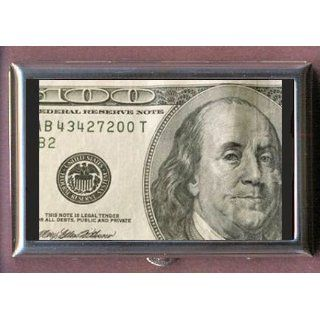 $100 DOLLAR BILL BEN FRANKLIN Coin, Mint or Pill Box: Made