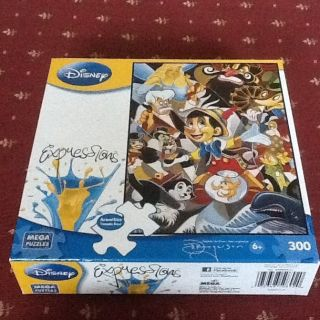 Disney Expressions 300 Piece Puzzle   Strings Of Temptation By Mega