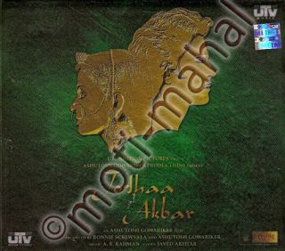 Jodhaa Akbar CD Bonus DVD Book Hrithik Aishwarya Bollywood Music CD