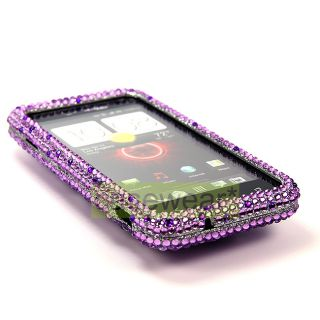 Diamond Bling Hard Case Cover for HTC Droid Incredible 4G LTE