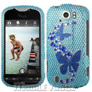 Bling Diamante Rhinestone Hard Case Cover for HTC My Touch 4G Slide T