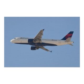 N327NW Delta Airlines Airbus A320 211 Print