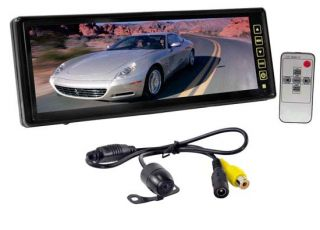 Pyle PLCM105 10.2 Inch TFT LCD Rear View Mirror Monitor with Back Up